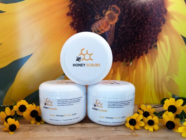 Honey Scrubs Display
